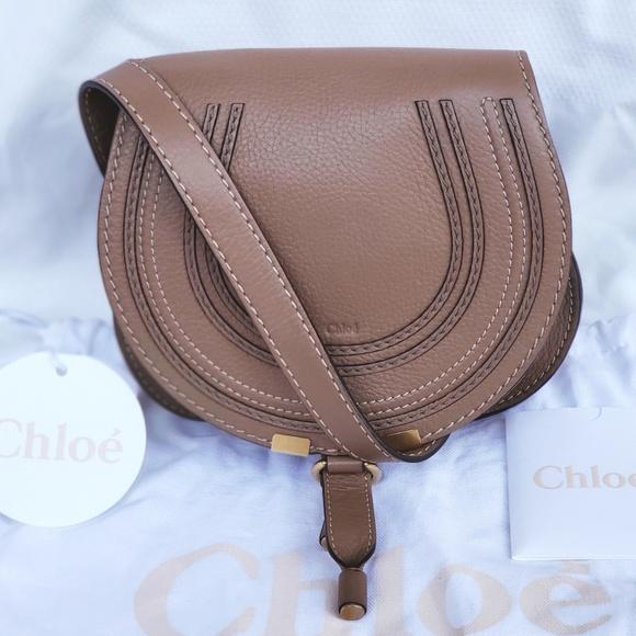 c8e62c91864 Chloe Handbags - Chloe Marcie Small Crossbody Nut